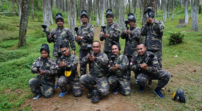 outing paint ball