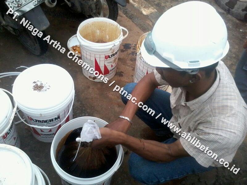 Persiapan Material Untuk Waterproofing Integral