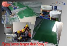 test mesin spray
