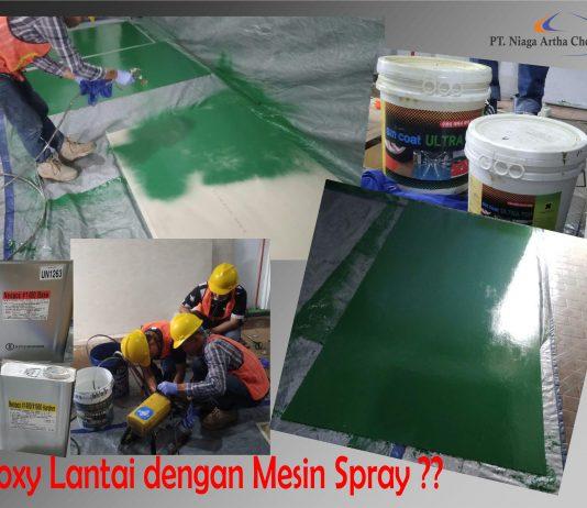 test mesin spray