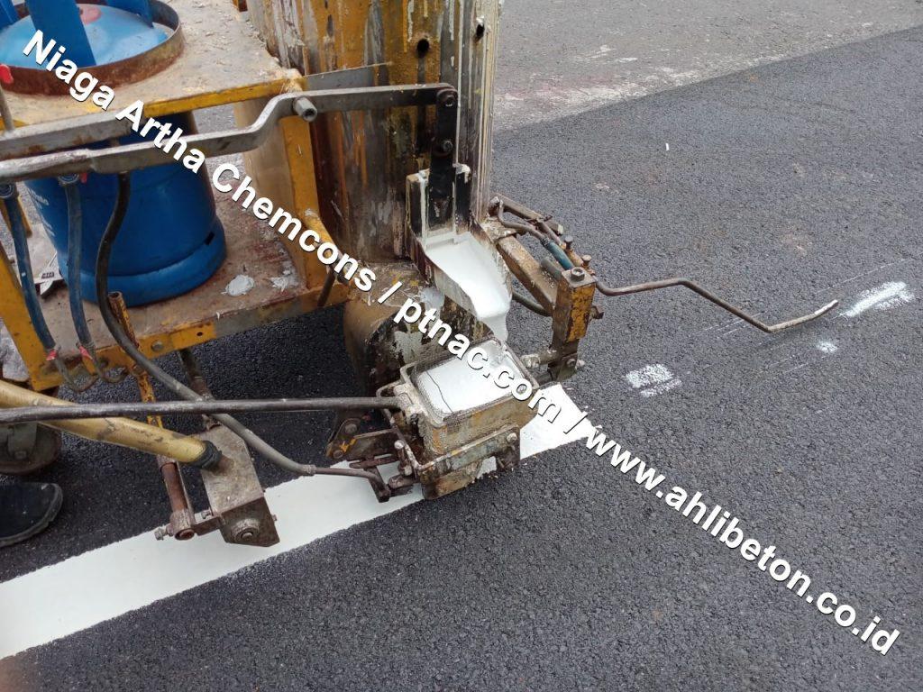 Proses Pengaplikasian Material Cat Termoplastik