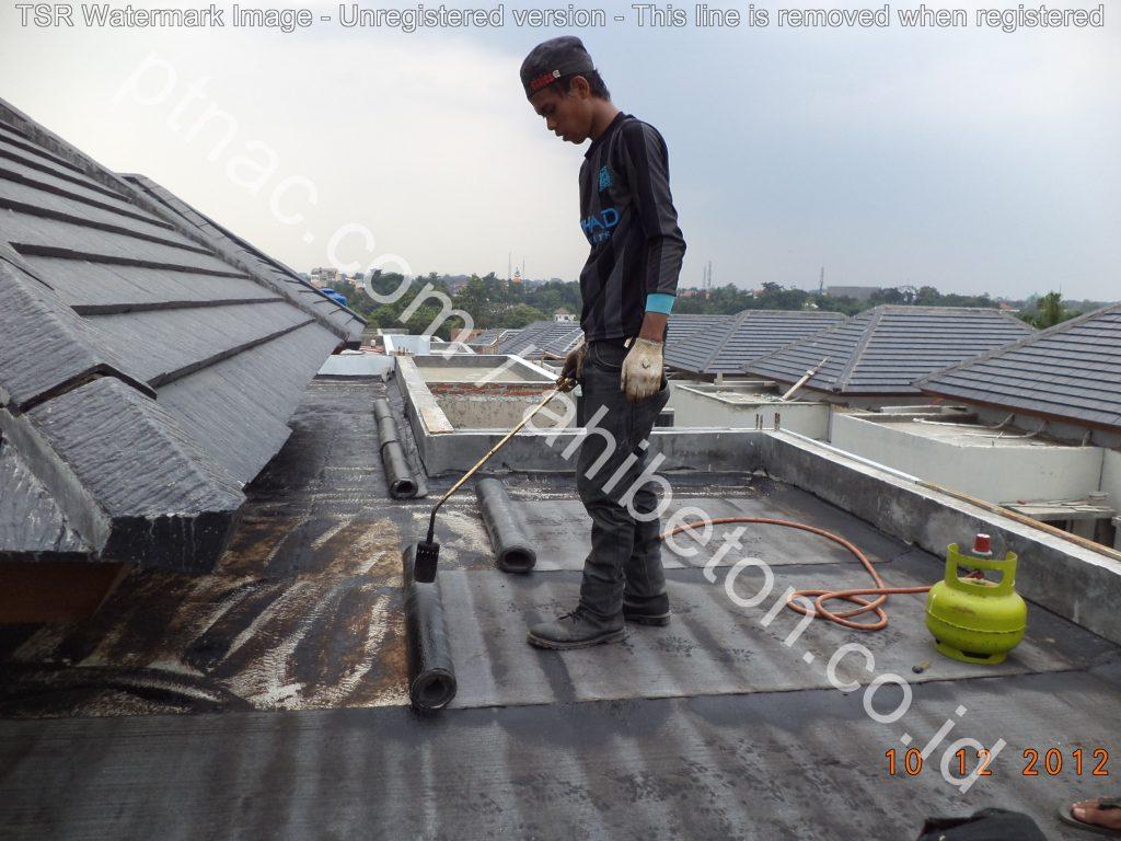 WP membrane bakar atap