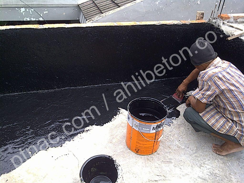 Waterproofing Coating pada roofdeck