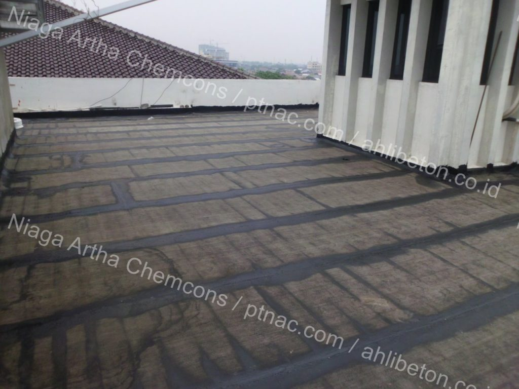 Waterproofing Membrane Roof Gedung Arthalim