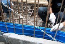 Pemasangan Waterstop PVC gedung