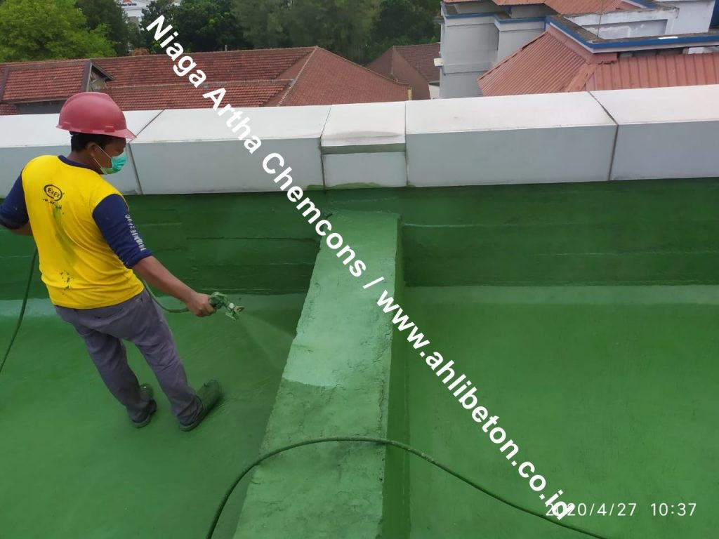 waterproofing spray roof