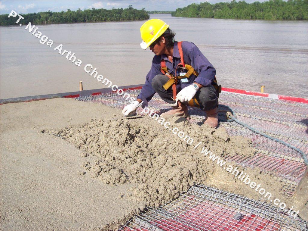 Pekerjaan Firestop Mortar oleh PT. Niaga Artha Chemcons