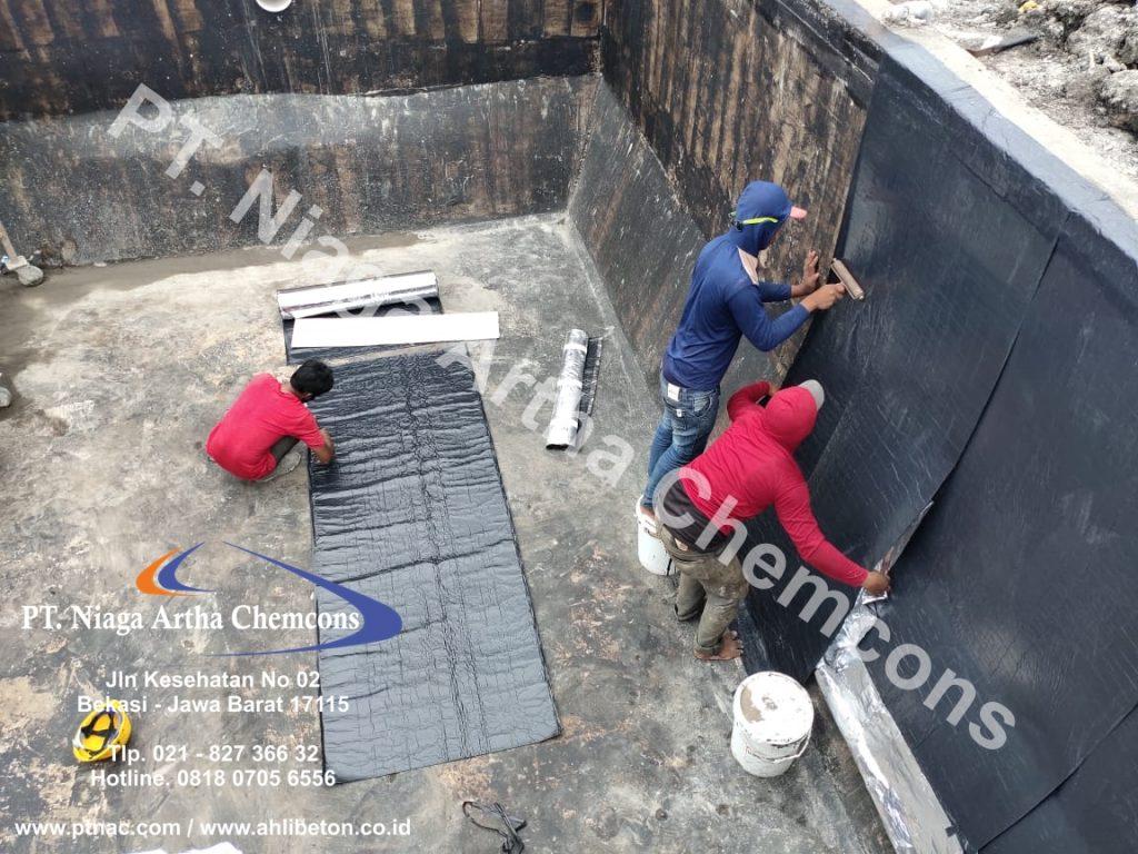Jasa Waterproofing Membrane Tempel pada Gedung