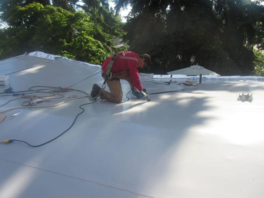 Waterproofing Membrane PVC Untuk Gedung