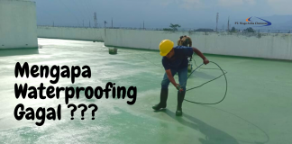 Mengapa Waterproofing Gagal